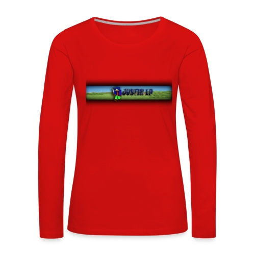 Justin LP Sachen zu bestellen - Frauen Premium Langarmshirt