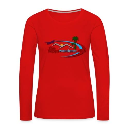 The Happy Wanderer Club Merchandise - Women's Premium Longsleeve Shirt