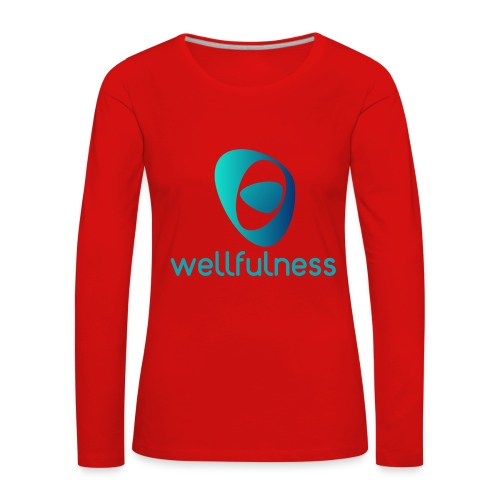 Wellfulness Original - Camiseta de manga larga premium mujer
