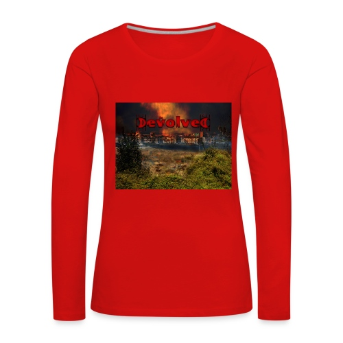 The Devolved Long TS1 - Women's Premium Longsleeve Shirt