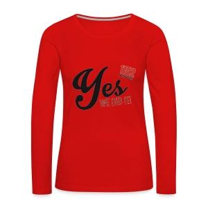 YES-1152.b - Frauen Premium Langarmshirt