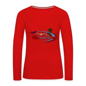 The Happy Wanderer Club - Women's Premium Longsleeve Shirt