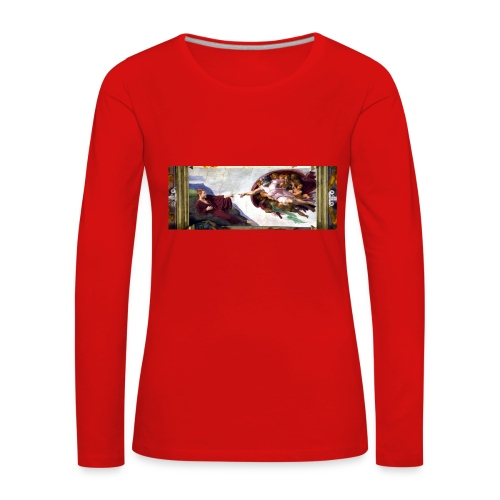 Björns skapelse - Långärmad premium-T-shirt dam