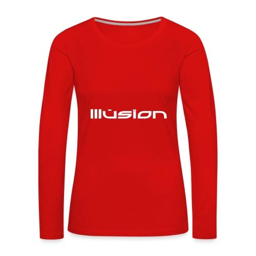 illusion ~ Name - Vrouwen Premium shirt met lange mouwen