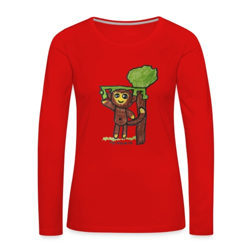 monkeywhite - Women's Premium Longsleeve Shirt