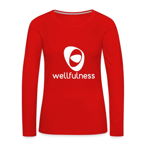 Bienestar Pleno - Camiseta de manga larga premium mujer