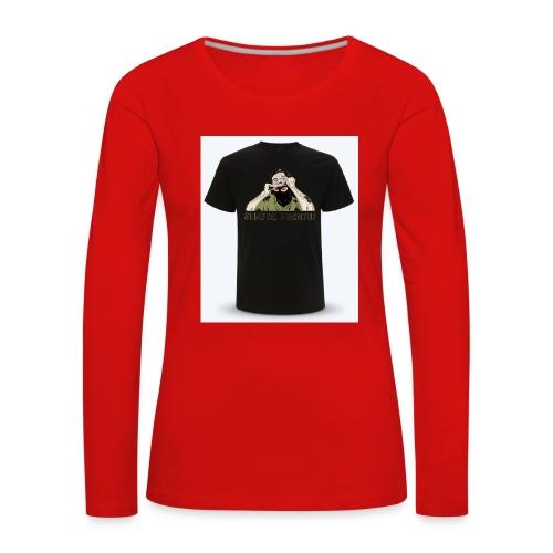 tt34 - T-shirt manches longues Premium Femme