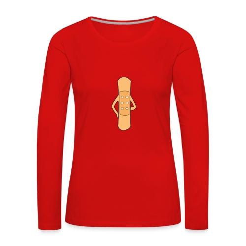 Flierp Trekpleister - Vrouwen Premium shirt met lange mouwen