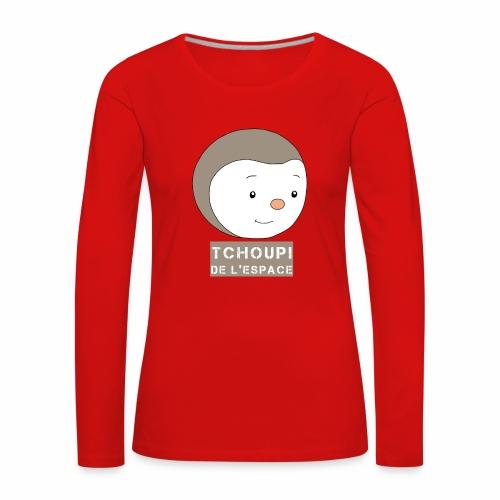 Tchoupi de l'Espace ! - T-shirt manches longues Premium Femme