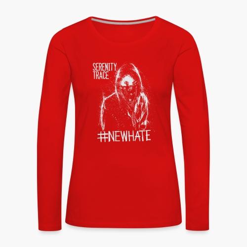 #NewHate Female - Premium langermet T-skjorte for kvinner