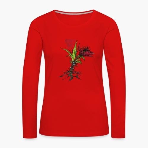 Serenity Trace - Jamais Vu Cover - Premium langermet T-skjorte for kvinner