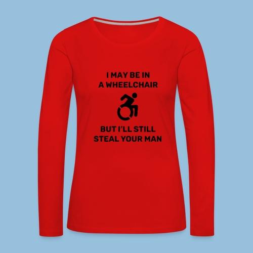 Steal2 - Vrouwen Premium shirt met lange mouwen