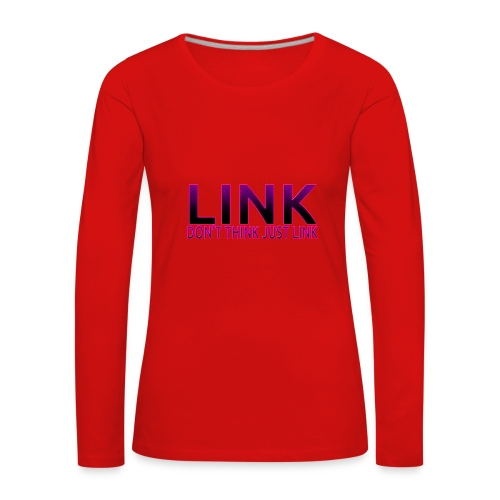 LINK PURPLE DESIGN - Women's Premium Longsleeve Shirt