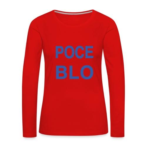 Tee shirt POCE BLO - T-shirt manches longues Premium Femme
