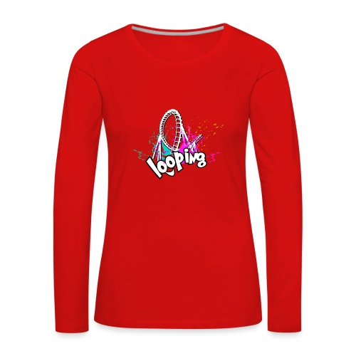 Looping - T-shirt manches longues Premium Femme