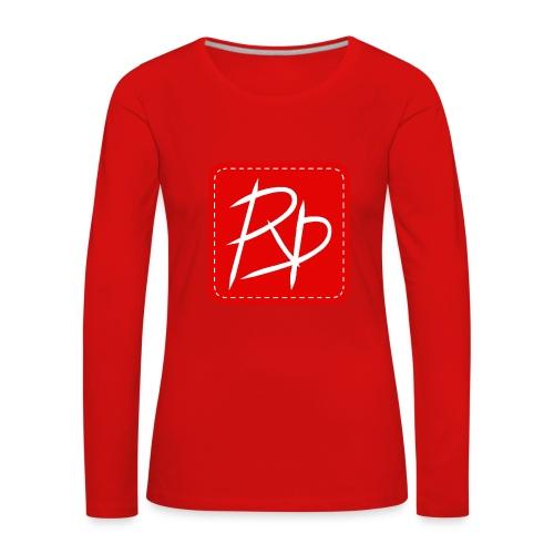 Provoke Designs Red Square - Women's Premium Longsleeve Shirt