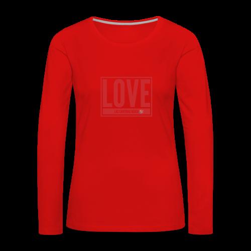 Love Las Canteras - Camiseta de manga larga premium mujer