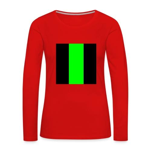 The henrymgreen Stripe - Women's Premium Longsleeve Shirt