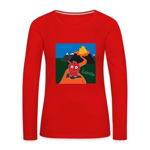 Inferno Lucie - Women's Premium Longsleeve Shirt