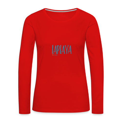 playa - Camiseta de manga larga premium mujer
