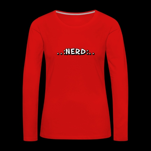 Nerd - Frauen Premium Langarmshirt