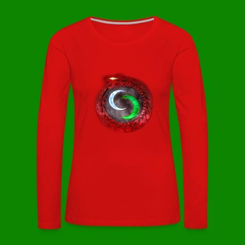 Emblème des créatures surnaturels. - T-shirt manches longues Premium Femme