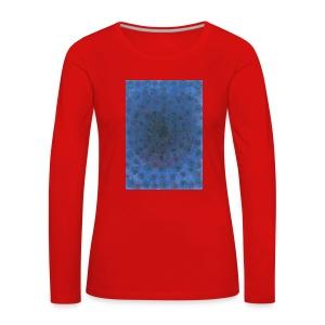 Blue Sky - Koszulka damska Premium z długim rękawem