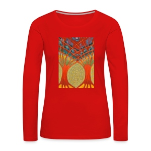 Do Nieba - Koszulka damska Premium z długim rękawem