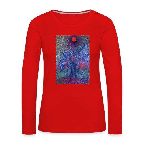 DrzewoKwiat - Koszulka damska Premium z długim rękawem