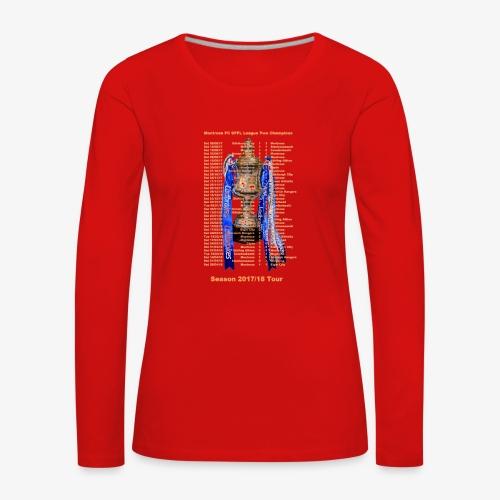 Montrose League Cup Tour - Women's Premium Longsleeve Shirt
