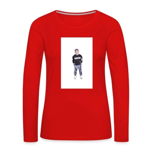Silik Comic - Frauen Premium Langarmshirt