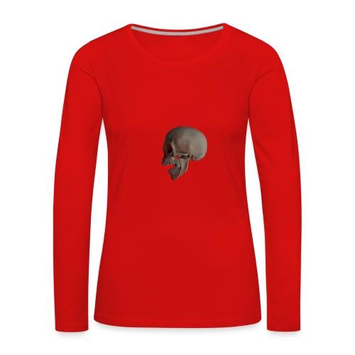 Teschio - Maglietta Premium a manica lunga da donna