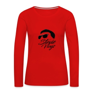 Stevie Vlogs Logo - Women's Premium Longsleeve Shirt