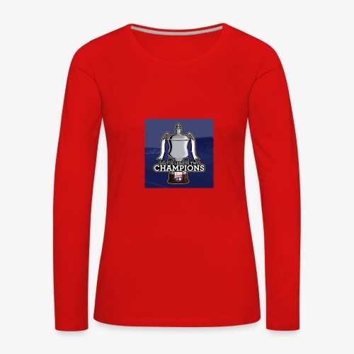 MFC Champions 2017/18 - Women's Premium Longsleeve Shirt
