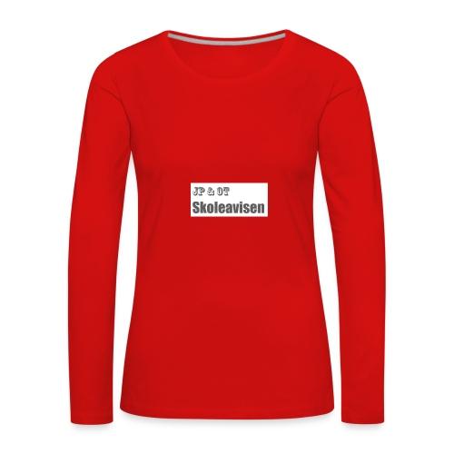 JP_-_OT_Skoleavisen_logo - Premium langermet T-skjorte for kvinner