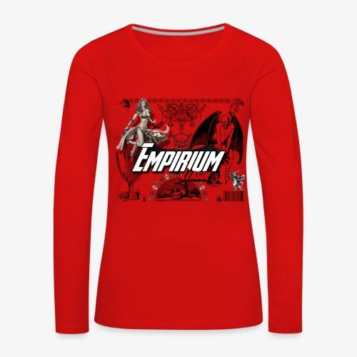 Anges et demons - T-shirt manches longues Premium Femme