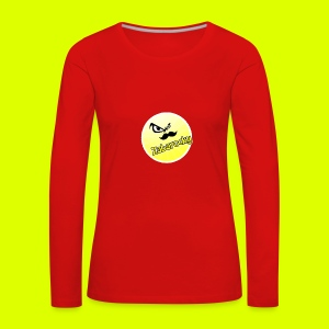 Shirt with nice logo with text - Women's Premium Longsleeve Shirt