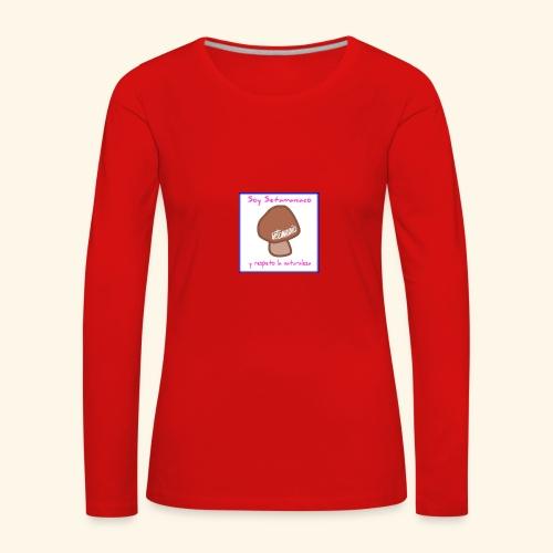 Soy Setamaniaco - Camiseta de manga larga premium mujer