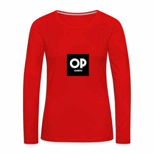 Opgamers - Women's Premium Longsleeve Shirt