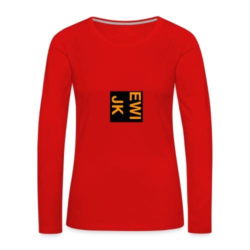 Ewijk - Vrouwen Premium shirt met lange mouwen