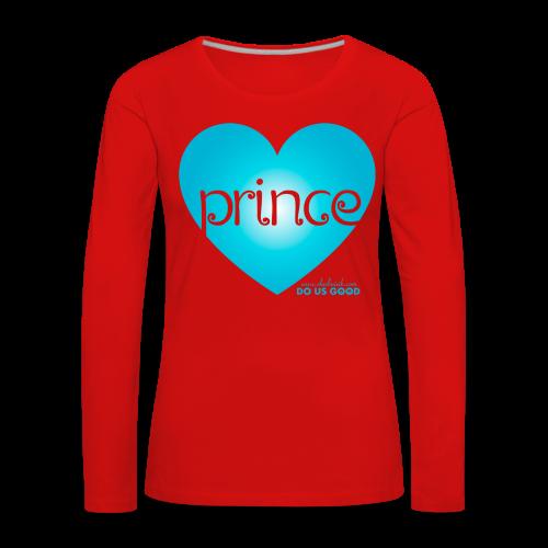 PRINCE - Naisten premium pitkähihainen t-paita