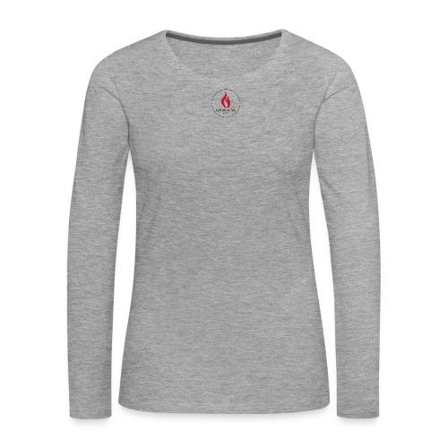 Logo Notte dei falo 2 - Maglietta Premium a manica lunga da donna
