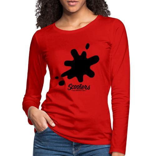 DL oil - T-shirt manches longues Premium Femme