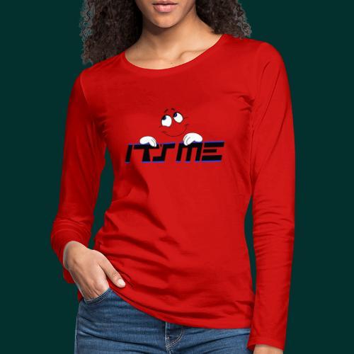 Faccia sognante - Maglietta Premium a manica lunga da donna