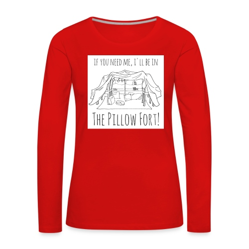 if you need me TPF png - Women's Premium Longsleeve Shirt