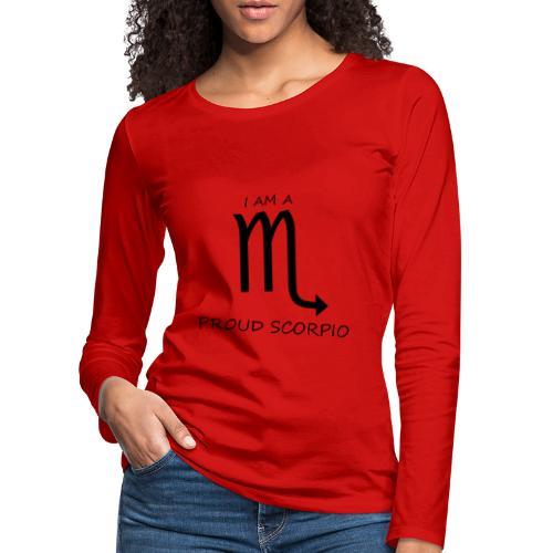 SCORPIO - Women's Premium Longsleeve Shirt