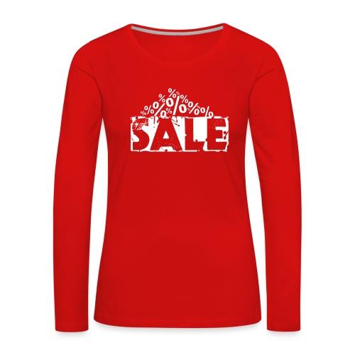 Sale - Ausverkauf - Frauen Premium Langarmshirt