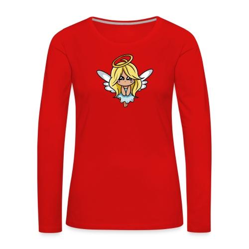 Ange Kawaii - T-shirt manches longues Premium Femme