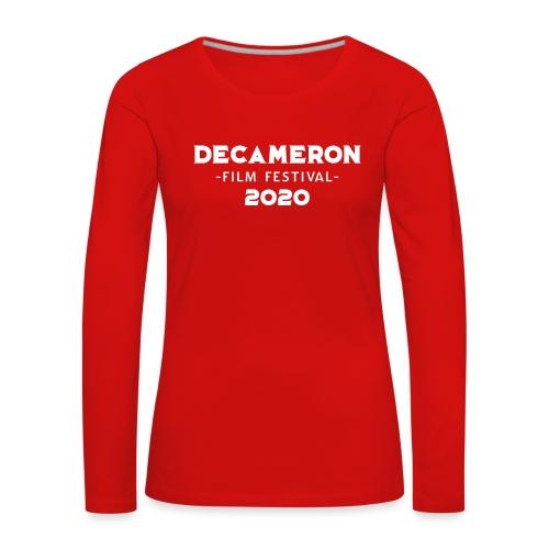 DECAMERON Film Festival 2020 - Women's Premium Longsleeve Shirt