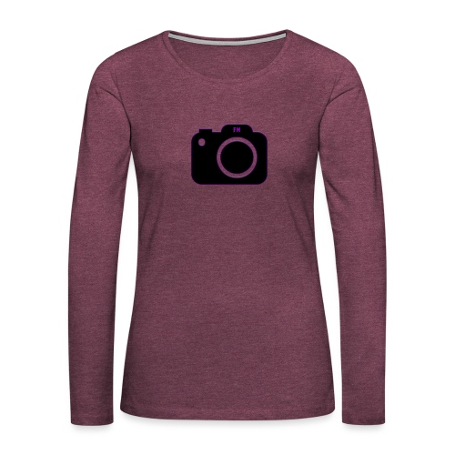 FM camera - Women's Premium Longsleeve Shirt